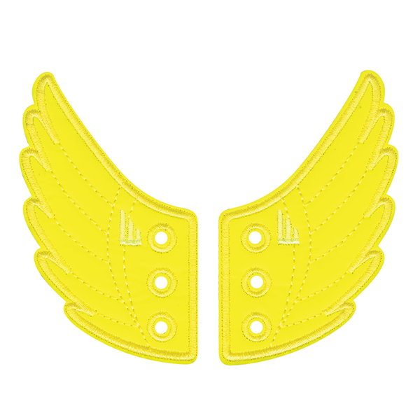 Reflective wings Shwings yellow
