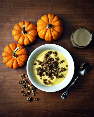Pumpkin Pie Yogurt with Harvest Spice Granola