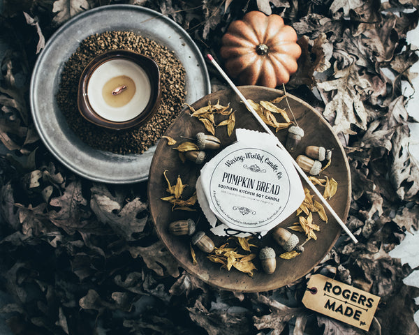 Waxing Wistful Candle Co. Pumpkin Bread Candle