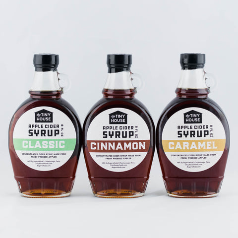 Apple Cider Syrup Variety Pack