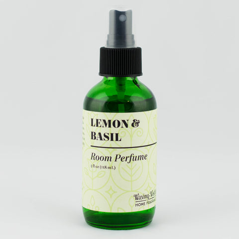 Lemon & Basil Farmers Market Room Perfume - 4 oz.