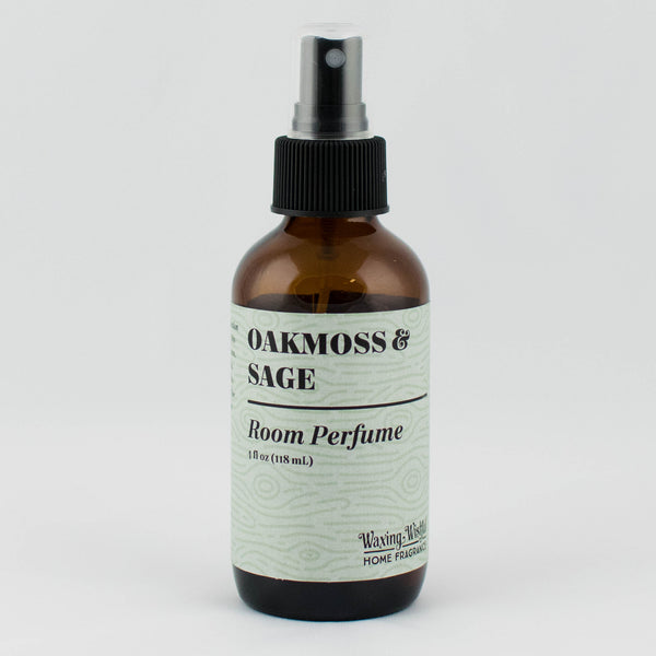 Oakmoss & Sage Mountain Homestead Room Perfume - 4 oz.