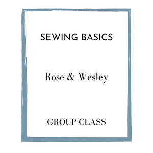 Group Sewing Class | Learn The Basics