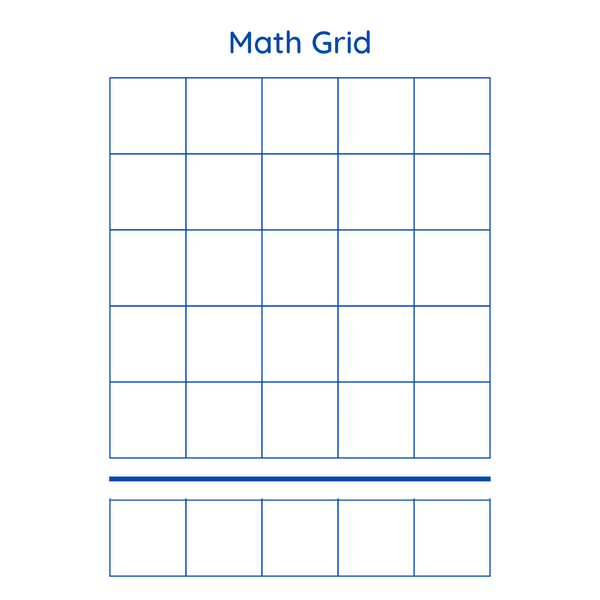 Math Grid Activity Set