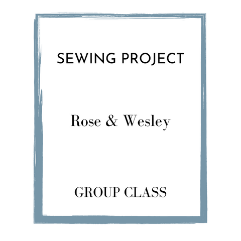 Group Sewing Class | Create A Masterpiece