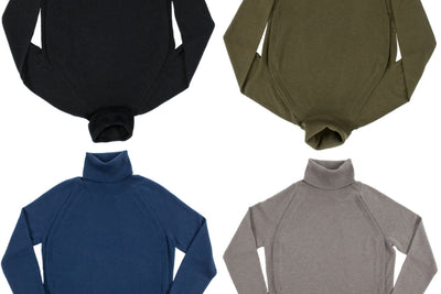1 CASHMERE BREASTFEEDING TURTLENECK - MULTIPLE LOOKS FOR AUTUMN