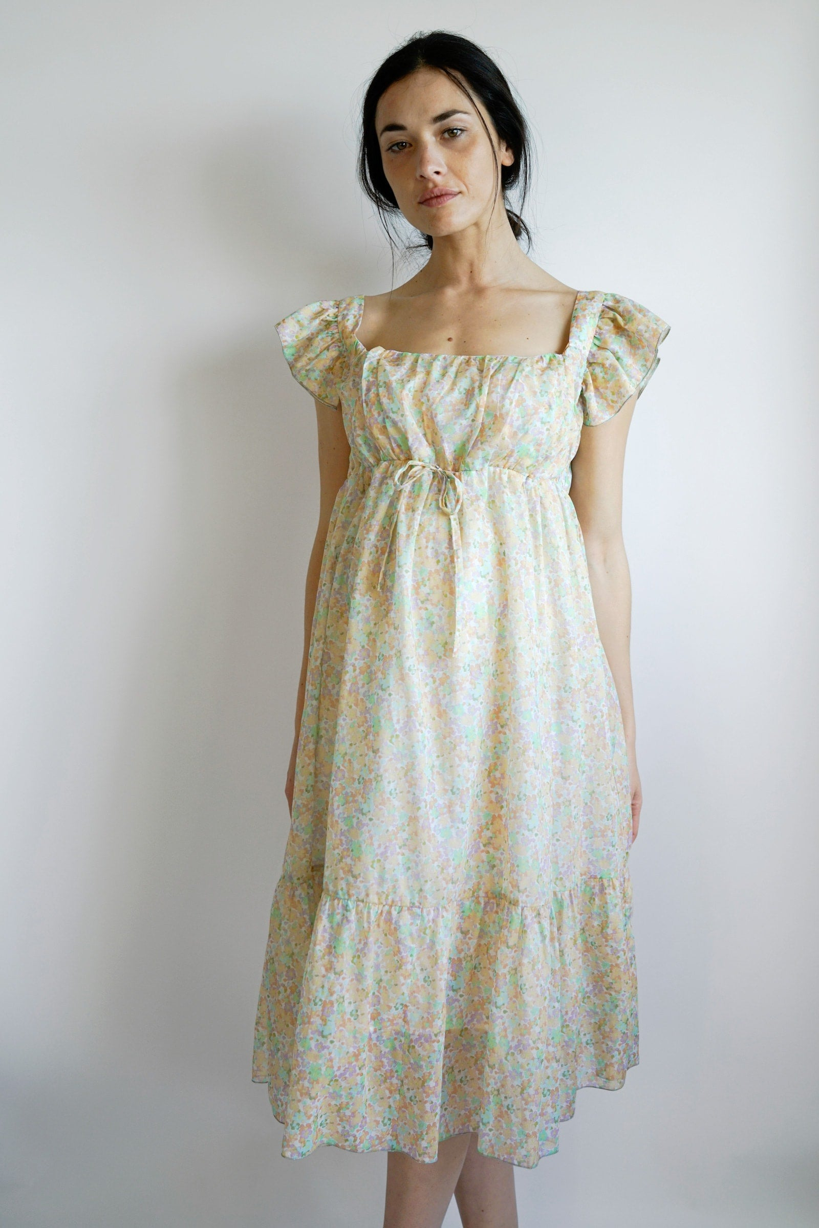 Camilla Maternity Dress - Pastel
