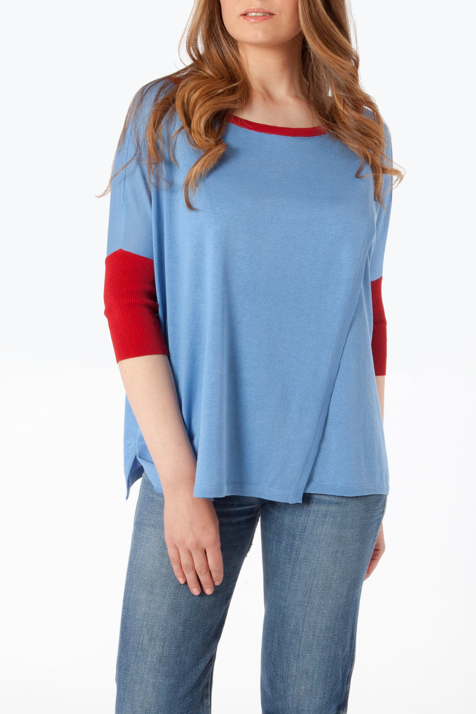 Caterina Tunic - Front - Light Blue
