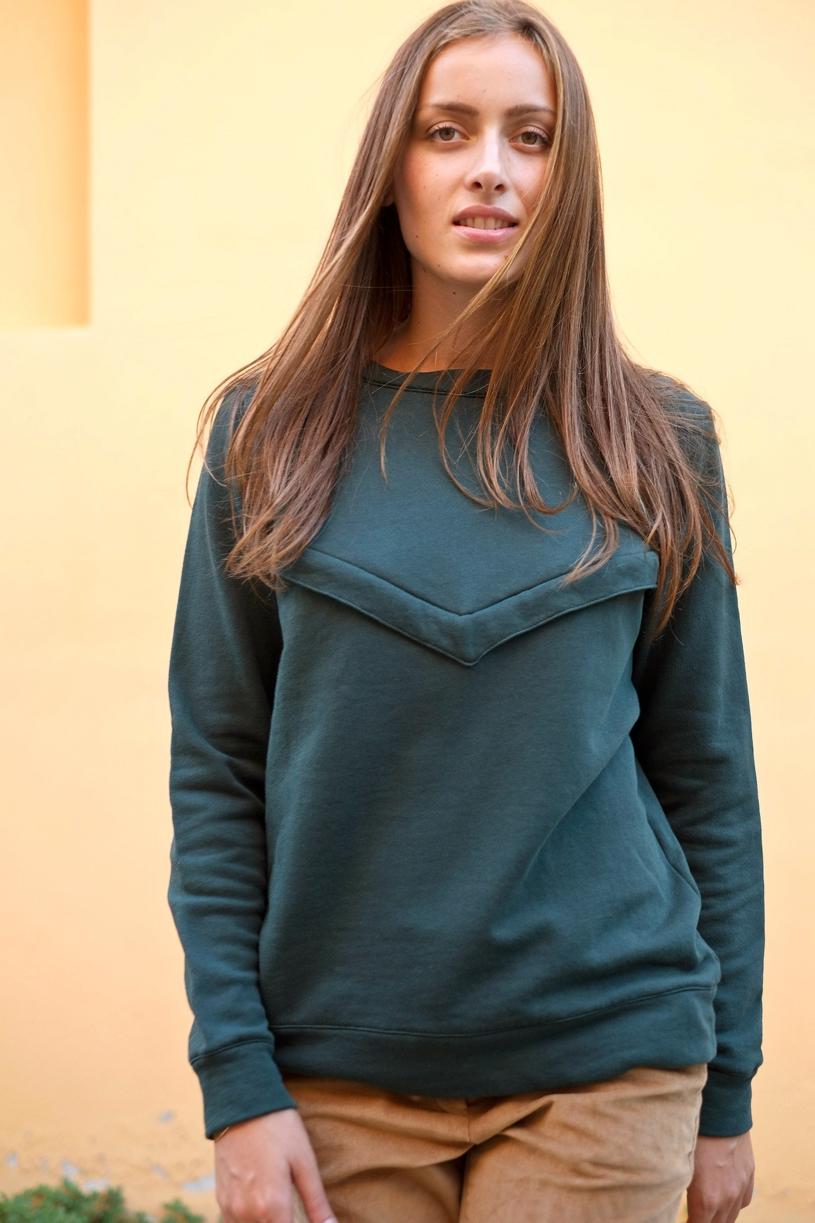 Gemma Sweatshirt - ambient - hunter green