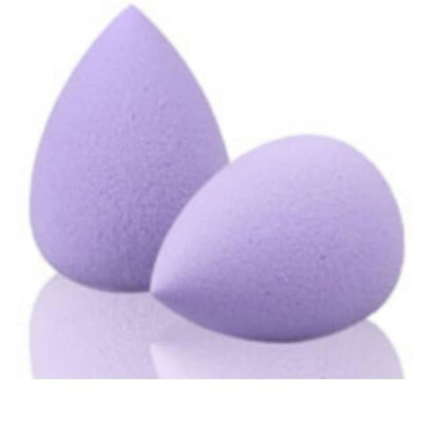 Éponge À Fond De Teint Type Beauty Blender Violet / 2 Pcs