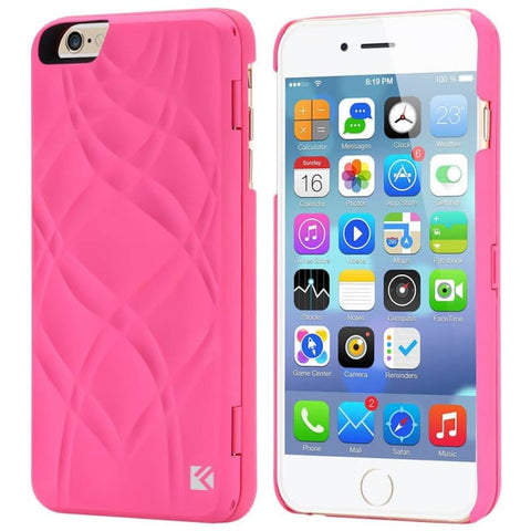Miroir Et Porte Carte Pour Iphone (6 6S 7 7+) Rose / Iphone 6 6S