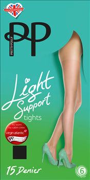 61e15c43b42 Pretty Polly Everyday Plus 15 Denier Lights Support Tights- 2 PAIR PACK  FREE UK DELIVERY