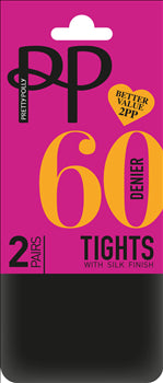 3bb002a51170 Pretty Polly 60 Denier Opaque Tights- 6 PAIR PACK WITH FREE UK DELIVERY  BLACK FRIDAY