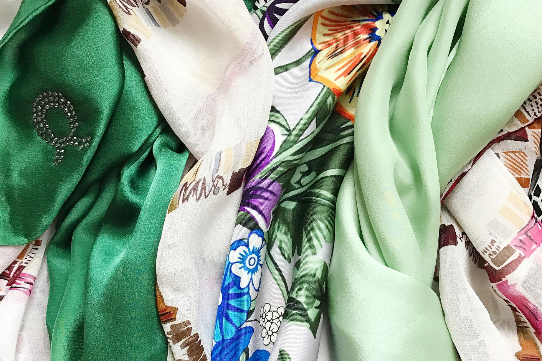 Fabric Talk Main Image Silk Scarves