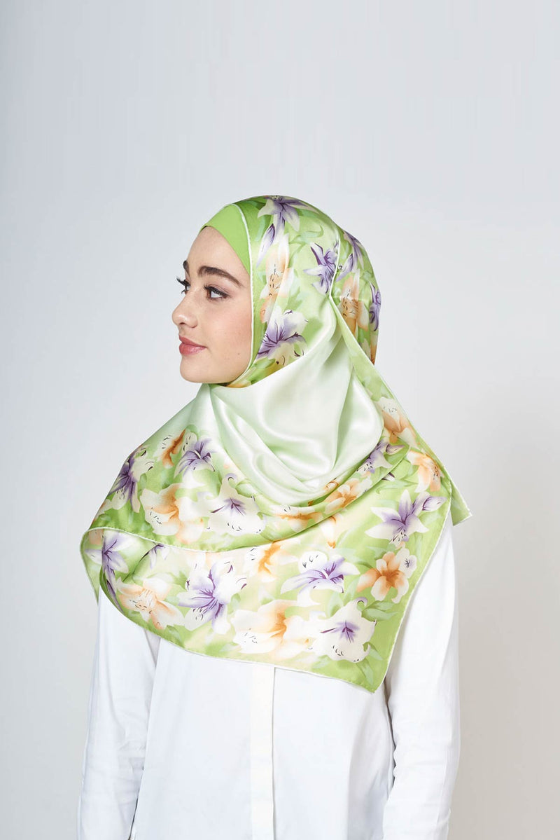lily love scarf SERIOUSLY SATIN SILK