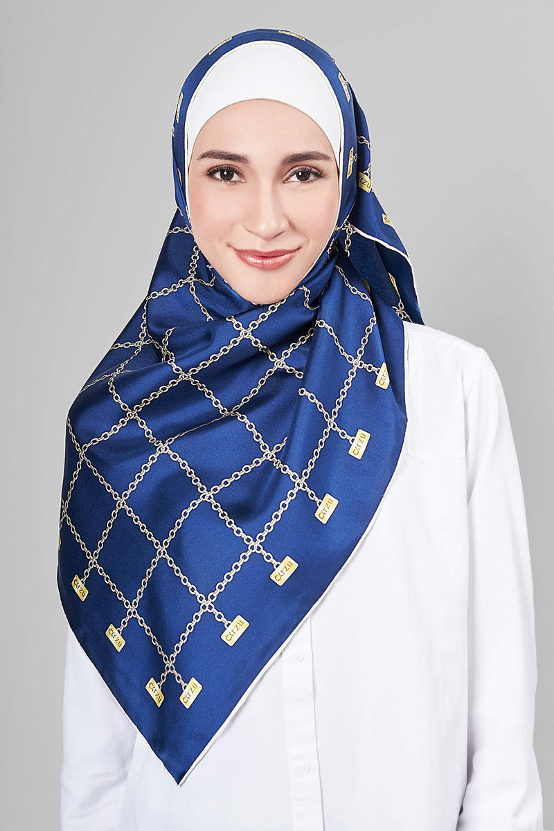 text -- shimmering arzu chain deep blue