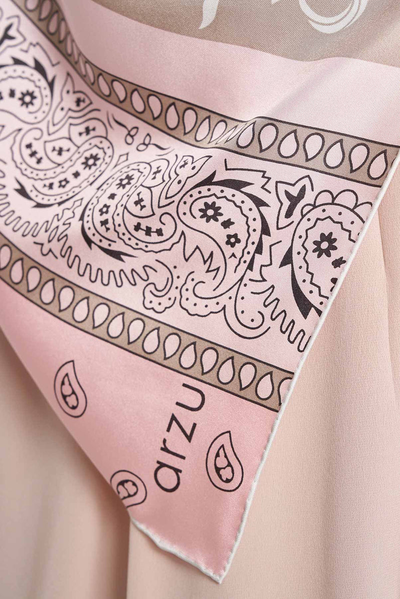 text -- paisley baby pink