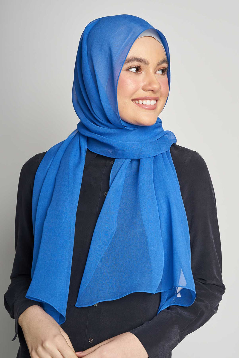 text -- crepe silk jet set blue
