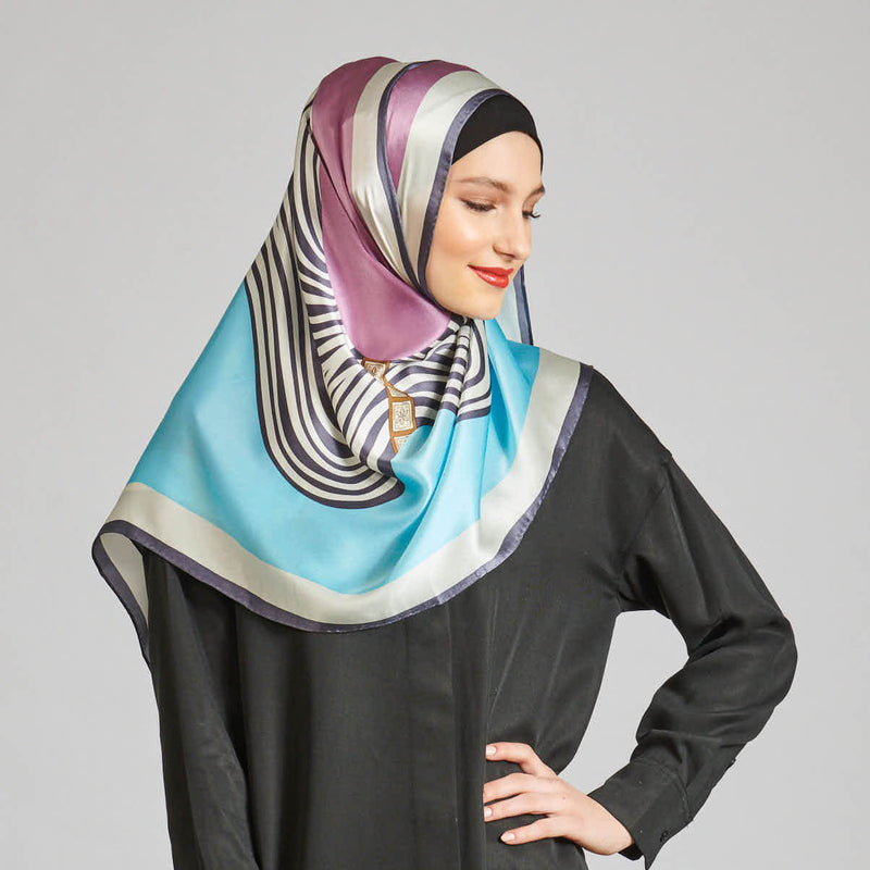 the new wave scarf SERIOUSLY SATIN SILK
