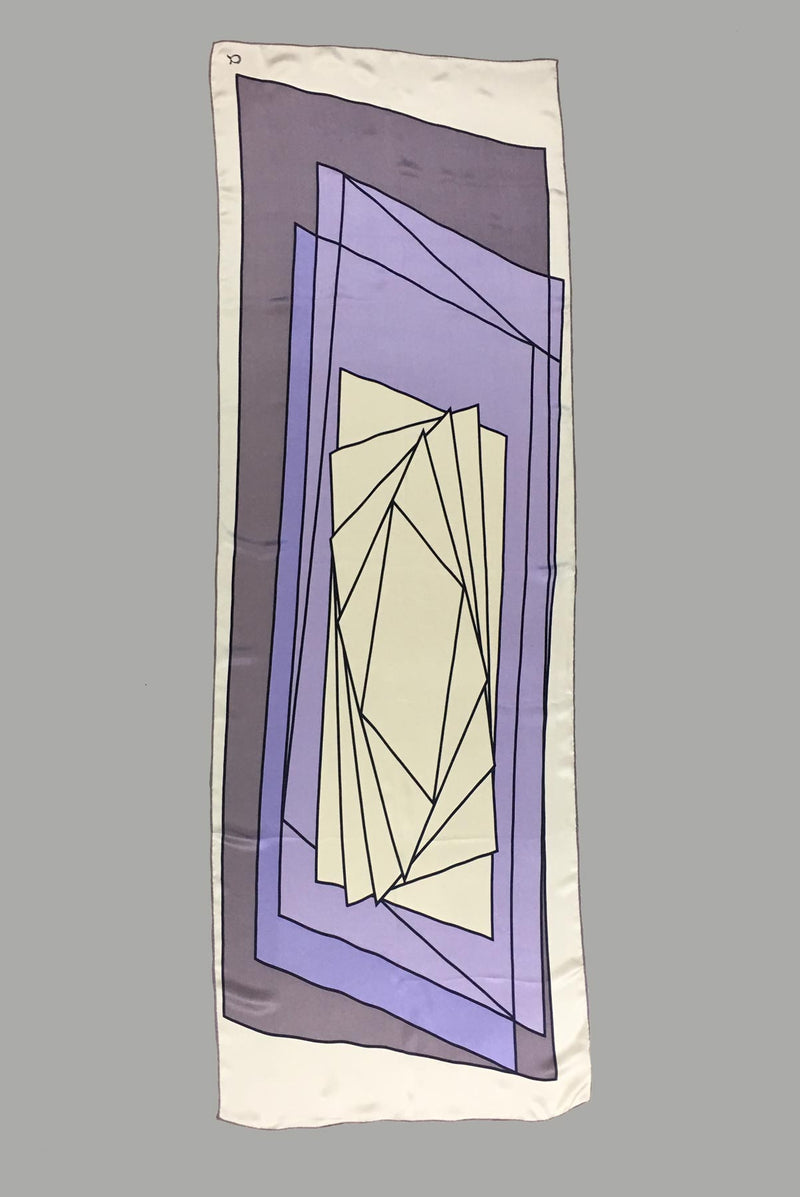 text -- stained glass amethyst