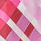 iridescent checkers passionate pink