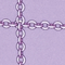 shimmering arzu chain lilac