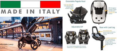 Made in Italy Peg Perego Agio Collection - Full Review