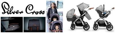 Silver Cross Wave Stroller debut in the US!