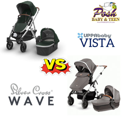 2018 Silver Cross Wave vs UppaBaby Vista Review