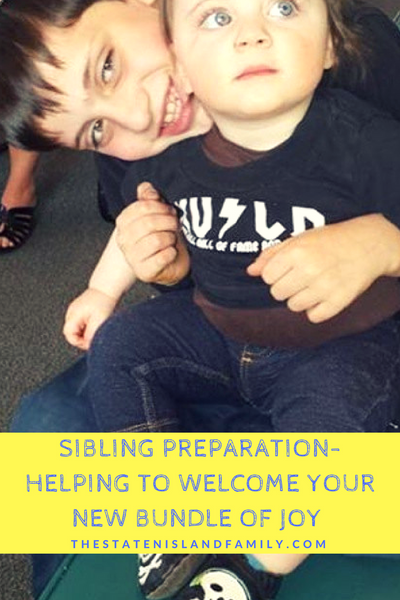 Ways to help Big Brothers and Sisters welcome their new baby sibling into the family!