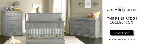 Westwood, Pine Ridge Collection, Nursery, Baby, Cribs