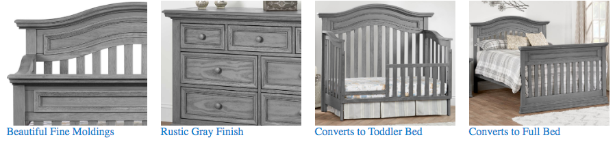 Oxford Baby Glenbrook Collection 2 Piece Nursery Set