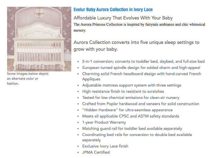 Evolur Aurora Collection 2 Piece Package Special