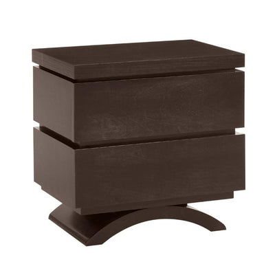 Capretti Milano Collection Nightstand in Espresso