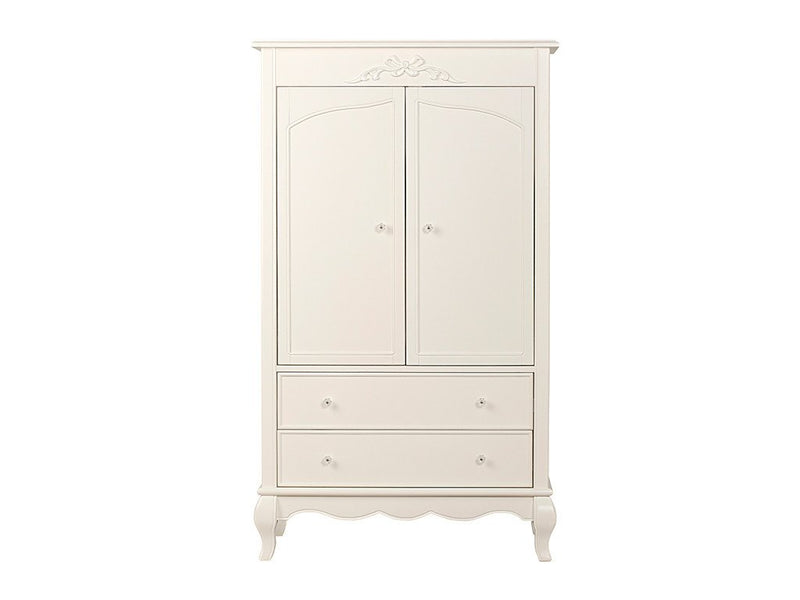 Evolur Armoire Ivory Lace / Fair White AURORA Armoire New York New Jersey Staten Island