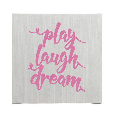 KAITLYN WALL ART- PLAY, LAUGH, DREAM - Posh Baby & Teen