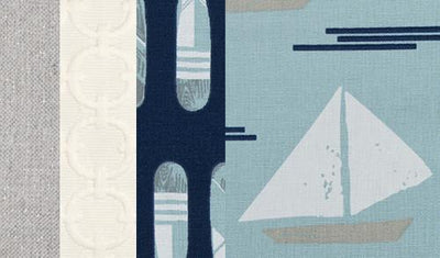 Lil Sailboat Swatch Set - Posh Baby & Teen
