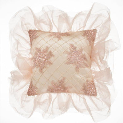 Glenna Jean Crib Bedding REMEMBER MY LOVE PILLOW- CREAM PINTUCK New York New Jersey Staten Island