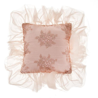 Glenna Jean Crib Bedding REMEMBER MY LOVE PILLOW - PINK PINTUCK New York New Jersey Staten Island