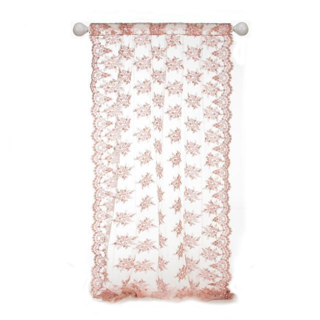 Glenna Jean Crib Bedding REMEMBER MY LOVE WINDOW PANEL (SHEER EMBROIDERED W SCALLOP EDGE) New York New Jersey Staten Island