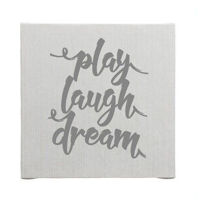 Glenna Jean Crib Bedding STELLA WALL ART-PLAY LAUGH DREAM New York New Jersey Staten Island