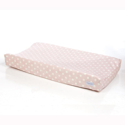 Glenna Jean Crib Bedding VICTORIA CHANGING PAD COVER (PINK/WHITE DOT) New York New Jersey Staten Island