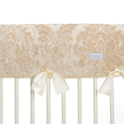 Glenna Jean Crib Bedding VICTORIA CONVERTIBLE CRIB RAIL PROTECTOR - SHORT (SET OF 2) (DAMASK)* New York New Jersey Staten Island