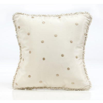 Glenna Jean Crib Bedding VICTORIA PILLOW - MOCHA DOT WITH CORD New York New Jersey Staten Island