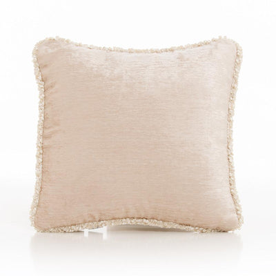 Glenna Jean Crib Bedding VICTORIA PILLOW - TAN VELVET WITH CORD New York New Jersey Staten Island