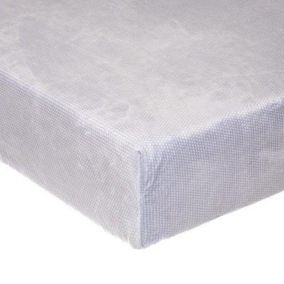 Glenna Jean Crib Bedding WILLOW FITTED SHEET (GREY MICRO DOT) New York New Jersey Staten Island