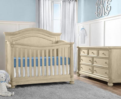 Kingsley Charleston 2 Piece Nursery Set Crib and Double Dresser
