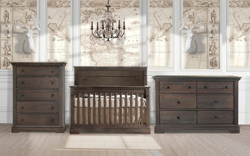 Natart 3 Piece Nursery Set Mink Natart Ithaca 3 Piece Nursery Set Crib, Double Dresser, and 5 Drawer Dresser New York New Jersey Staten Island
