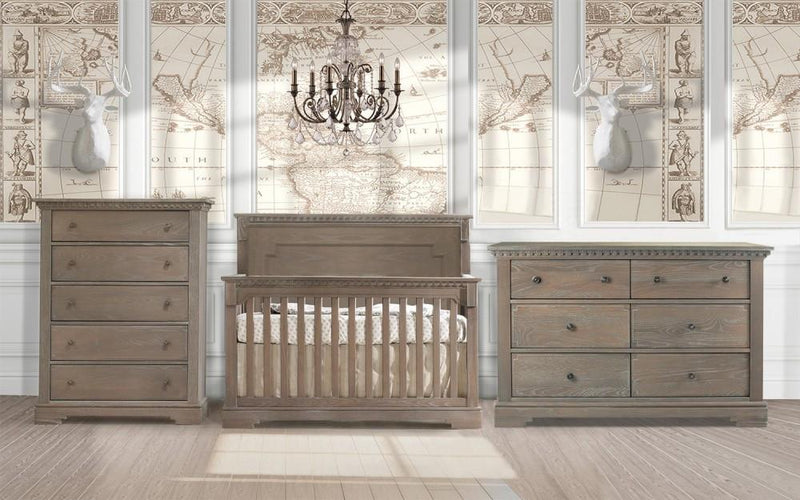 Natart 3 Piece Nursery Set Sugar Cane Natart Ithaca 3 Piece Nursery Set Crib, Double Dresser, and 5 Drawer Dresser New York New Jersey Staten Island