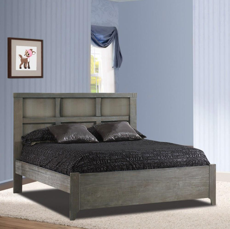 "Natart Low Profile Footboard Owl Natart Rustico Collection Double Bed 54"" with Low profile footboard & rails New York New Jersey Staten Island"